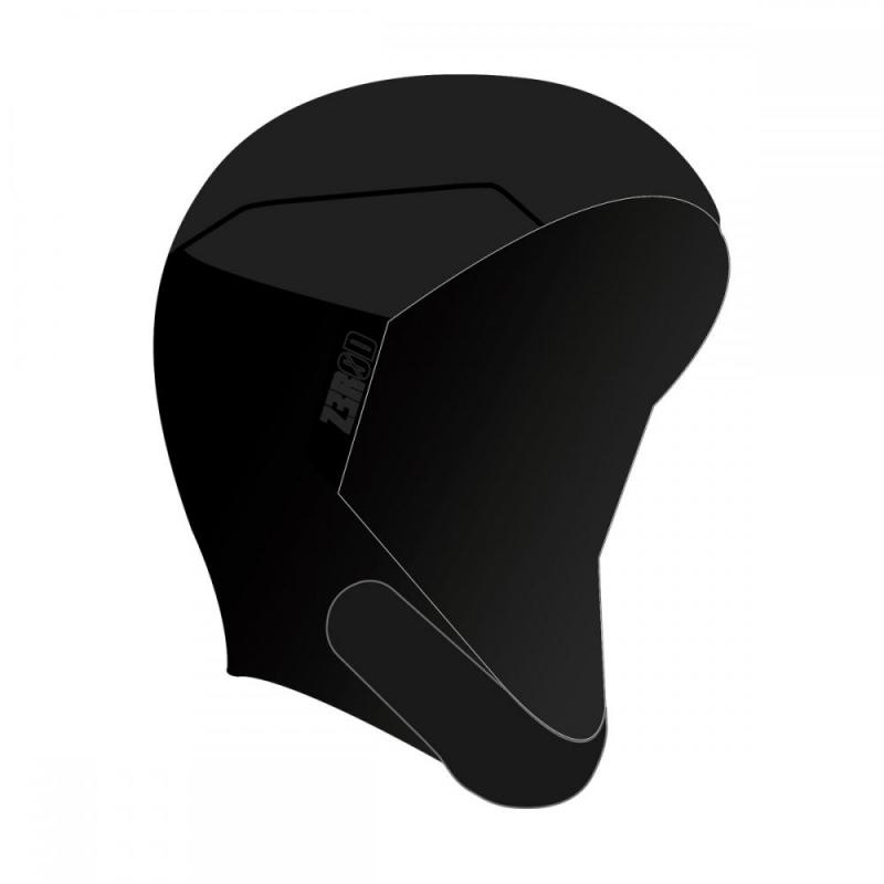 NEOPREN HOOD / black series - verstellbar